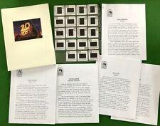 CONAN THE BARBARIAN  movie Press Kit rare 35mm slides 1982 Arnold Schwarzenegger
