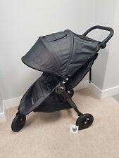 Baby Jogger City Mini GT Single Pushchair Charcoal Denim Grey Stroller FREE P&P