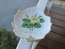Vintage Soap-Trinket-BonBon Candy Dish Floral NASCO Japan Leaf Shape