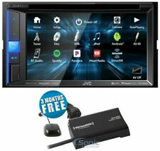 JVC KW-V250BT 2 DIN Bluetooth In-Dash Media Car Stereo Receiver + SiriusXM Tuner
