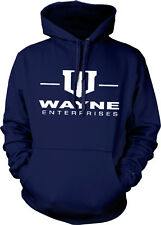 Wayne Enterprises Bruce Dark Knight Batman Gotham Hoodie Pullover Sweatshirt