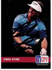 Fred Funk, PGA Golfer, Signed Pro Set Trading Card, COA, UACC RD 036