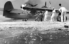 B&W WWII Photo Pearl Harbor Attack PBY Catalina  WW2 US Navy Hawaii World War