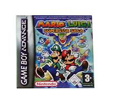 Mario and Luigi: Superstar Saga (Nintendo Game Boy Advance, 2003) - European...