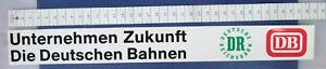 Aufkleber Sticker DB DR Unternehmen Zukunft ca 35x4,5 cm å√
