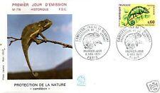 1692+ FDC ENVELOPPE 1er JOUR   CAMELEON