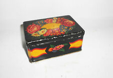 Small Vintage Tin Can Tin Box Decor Can Container Container