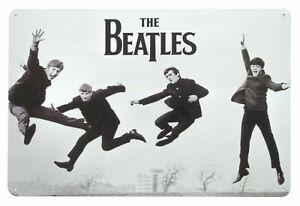 The Beatles JUMP Metal Wall Sign Steel Plaque Bar Gift (20cm x 30cm)