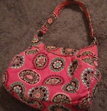 Vera Bradley: Tote Bucket Hand Bag in Cupcakes Pink Pattern/ Reversible      106