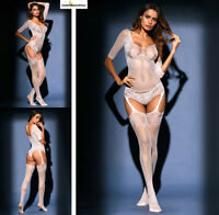 Hot Reizwäsche Fishnet Body Stocking Catsuit Netz Body Unterwäsche |H| 79976-1