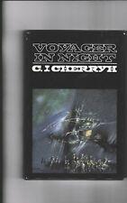 C. J. CHERRYH---VOYAGER IN NIGHT---hc/dj---1984---bce---DAW BOOKS, INC.