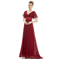 cc617a7b87d8 Ever-Pretty Evening Party Dress Cocktail Wedding Prom Gown Bridesmaid Lot  09890 20 Burgundy
