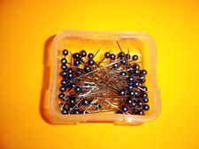"Nickel-Plated Steel 100 Dritz Long Purple Pearlized Headed Pins 1 1//2/"" Long"
