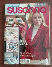 LE IDEE DI SUSANNA GENNAIO 2009 PUNTO CROCE MAGLIA ECC.