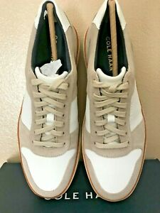 """NIB Men's Cole Haan Grand Crosscourt Crafted Sneakers """"Pumice Ivory""""  Size 11"""