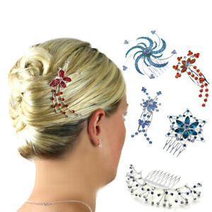 Hair Combs Dance Accessories Ballet Diamante Girls Kids Slides Clips Head Pieces