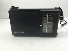 Retro RUSSIAN HAND HELD RADIO KBAPL PN-209 Meter Frequency W Antenna and Strap