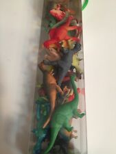 WowToyz Animal Explorer Dinosaurs Tube Play-set & Mat. 24 Piece New. Educational