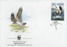 WWF  UCCELLI  FDC POLONIA BUSTA PRIMO GIORNO 2003 FALCHI 3/4