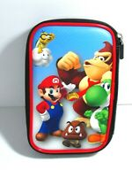 Nintendo 3DS Video Game Travel Case Super Mario Bros Donkey Kong