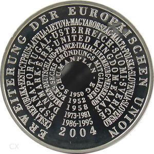 *** 10 Euro DEUTSCHLAND 2004 Erweiterung der Europäischen Union EU Spiegelglanz
