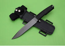 12''New ABS Handle 58HRC Camping outdoors Hunting Knife SF14