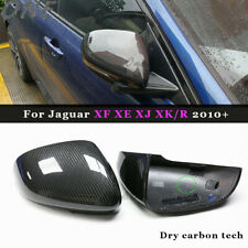 Dry Carbon Fiber Mirror Cover for 09+ Jaguar XE XF XJ/R XK/RS Replace Side Shell