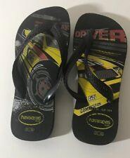Boys Navy Havainias Size 33-34 Flip Flops Clothing, Shoes & Accessories Boys' Shoes