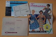 Versandhaus Leipzig Katalog Frühlingsboten, 8 Seiten, 1960, Beilage, Umschlag