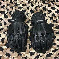 NEW Valken Alpha Full Finger Paintball Gloves - Black - Large