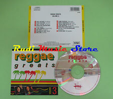 CD REGGAE GREATS VOLUME 3 compilation BOB MARLEY LEE PERRY MERGER (C29) no mc lp