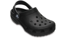 Crocs Classic Clog K Black Roomy Unisex Kids Clogs Size 12m
