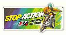 """Hurst Airheart Motocross Sign - 22"""" x 11"""" Vintage Gasser Drag Poster Decal"""