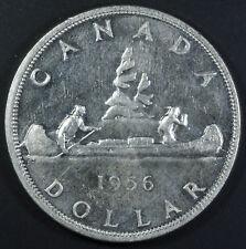 1956 Canada Silver Dollar $1