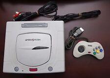 Sega Saturn White Console Japan import SS system US Seller-Very Good US Seller