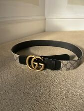 Ladies Gucci Belt Size 10-12 (90) Authentic With Receipt
