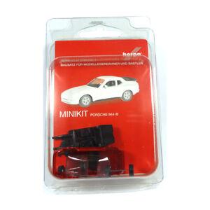 Herpa 012768-002 Minikit Porsche 944 Red Kit Scale 1:87 Model Car New !°
