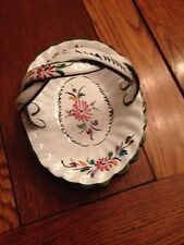 RC&CL Hand Painted OVAL  Basket- Made in Portugal, #'d, Stamped