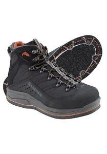 Simms Vapor Boot Felt ~ Coal NEW ~ Size 7 ~ CLOSEOUT