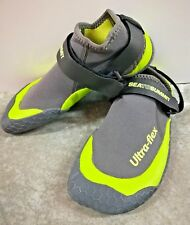 Sea To Summit Ultra Flex Water Shoes Dry Gray & Neon Green Size 7 Small Womans