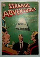 Strange Adventures #49 DC Comic Book 1954 Golden Age Sci-Fi Ungraded Incomplete