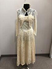 1950S Lace Wedding Dress