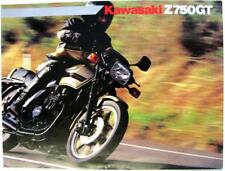 KAWASAKI Z 750 GT Original Motorcycles Sales Brochure c1983 P/N 99943-1368 ALL-E
