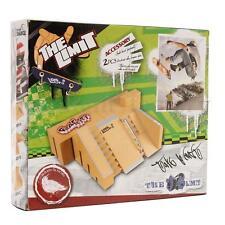 Skate Park Ramp Parts for Tech Deck Fingerboard Finger Board Ultimate Parks