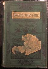 David Livingstone Missionar & Entdecker Rev J Marrat 1877