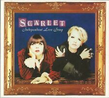 SCARLET - INDEPENDENT LOVE SONG 1992 UK CD SINGLE DIGIPAK WEA YZ820CDX