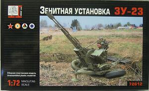 Fla-Geschütz Zu-23-2, Gran , 1:72, Plastic, New