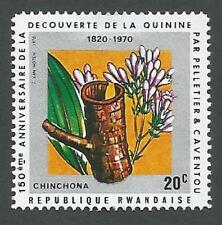Rwanda Scott# 367, Chinchona Flower & Bark, Unused, FG, HM, 1970
