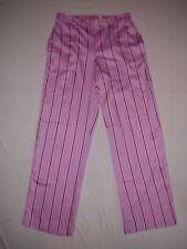 Victoria's Secret satin pajama sleep pants Black Red Pink Stripe or Burgundy Dot