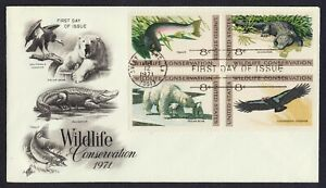 #1430a 8c Wildlife Conservation, Art Craft-Add FDC **ANY 5=FREE SHIPPING**